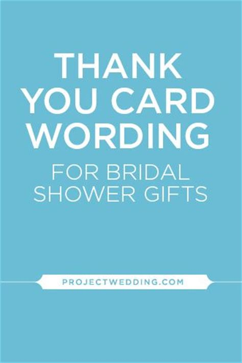 bridal shower thank you wording for bridal shower thank you wording cards thank you card wording and bridal shower