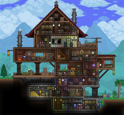 home design gold pc pc ballin houses by eiv page 5 terraria community