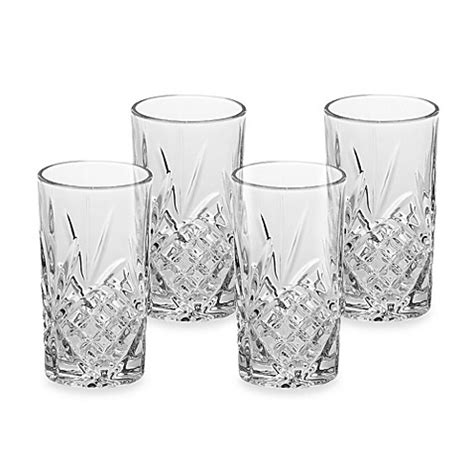 bed bath and beyond dublin godinger dublin highball glasses set of 4 bed bath