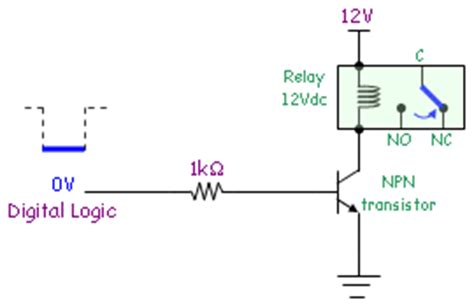 transistor switch relay driver mistherr switch 3 mechanical relay