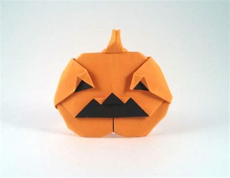 Origami Pumpkins - o lantern bolitho gilad s origami page