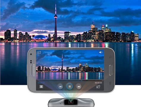 Handphone Samsung Galaxy Beam 2 samsung galaxy beam 2 projector phone with metal build goes official in china