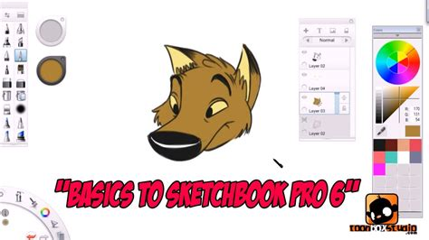 sketchbook pro pc basics to sketchbook pro 6 for beginners tutorial