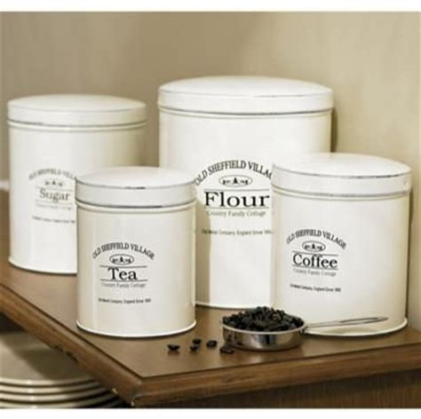 chefs old sheffield kitchen canisters food canisters my