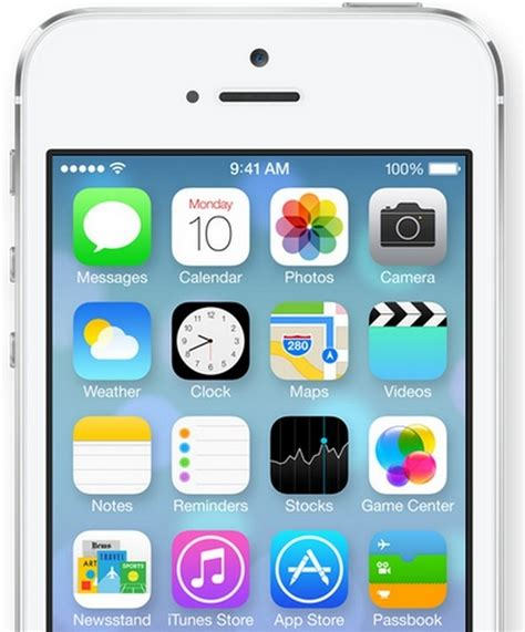 original layout for iphone discombobyoulated fresh new look of apple ios 7 in pictures