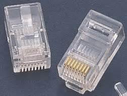 Konektor Rj45 Cat5e konektor nest 237 n茆n 253 rj45 utp 8p8c cat 5e 50micron licna aspa cz
