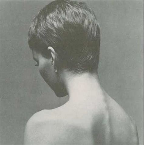 photos of the back of a haircut with a w neckline 15 back of pixie cuts pixie cut 2015