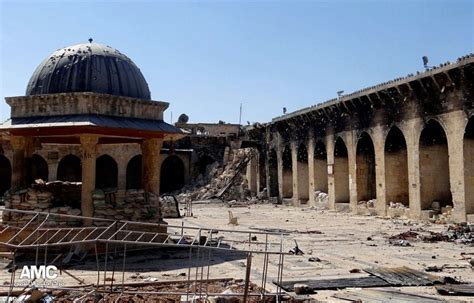 Krak Des Chevaliers by Umayyad Mosque Archaeologists Left Horrified As Historic 11th Century Minaret Reduced To Rubble
