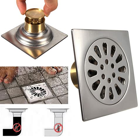 other bathroom square stainless steel odor resistant