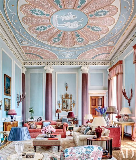 british neoclassical interior wooden walls and fabric sofa how to decorate with the 2016 pantone colors of the year