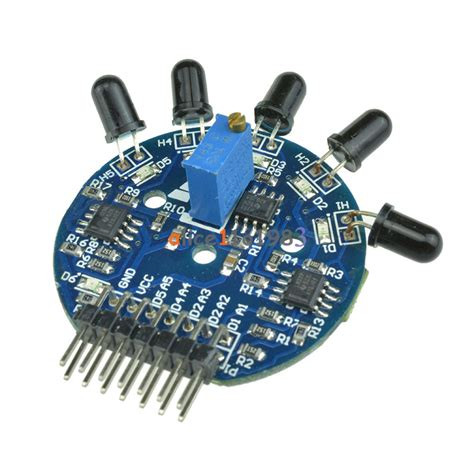 5 Way Sensor 5 Channel Sensor Arduino Fighte Berkualitas 5 way sensor module digital analog output