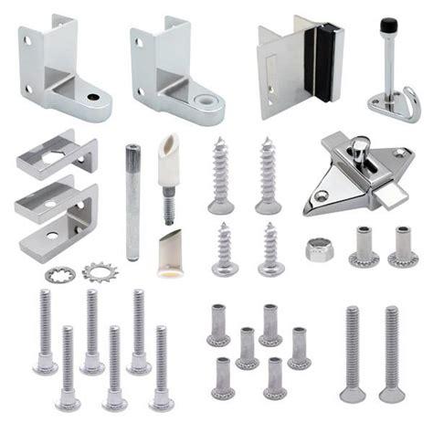 bathroom stall door parts door hardware kits for 7 8 quot door and 1 1 4 quot post toilet