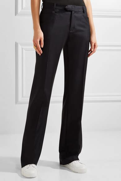 Trousers 100 At The Net A Porter Sale by Joseph Rocker 100 Wool Twill Wide Leg Net