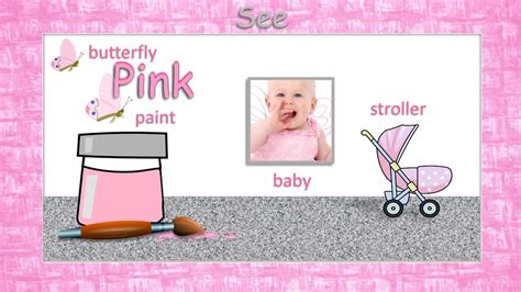 pink color song learn the color pink pink is a color song bubbly vee