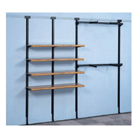 Wall Shelf Track by Retail Display Fixtures Racks Merchandisers Upright