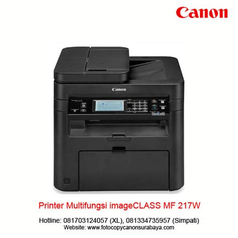 Printer Canon Multifungsi canon printer multifungsi mf 217w distributor fotocopy