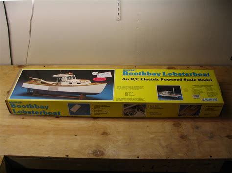 midwest lobster boat kit steps for building model boat kit boothbay lobsterboat by
