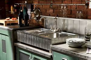 Vintage Kitchen Backsplash by Vintage Kitchen Combines Timeless Design With Seamless
