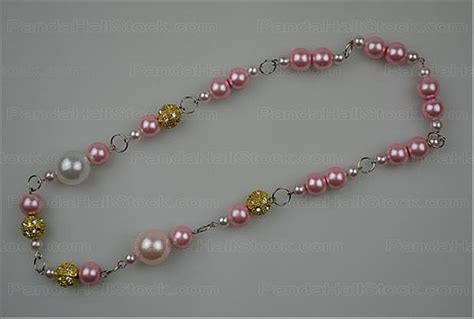 how to make pearl jewelry how to make a pearl necklace easy 4 steps to make a