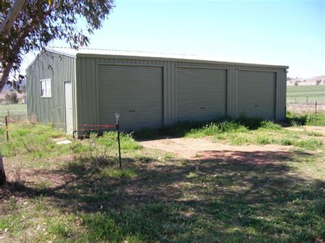 3 Bay Shed by 1 500 Acre Rural Acreage With Approved Subdivision Tamworth Nw Nsw Sell Without Agents