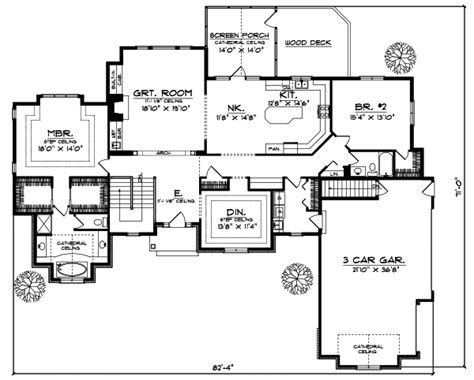 2400 square foot house plans ranch style house plans 2400 square foot home 1 story
