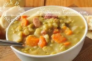 crock pot pea soup katherines corner