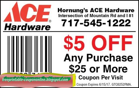 ace hardware discount printable coupons 2018 ace hardware coupons