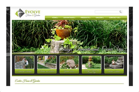 evolve home and garden