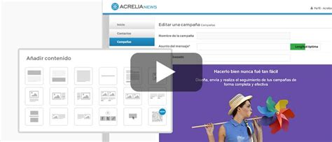 blogger newsletter tutorial tutoriales email marketing blog acrelia news