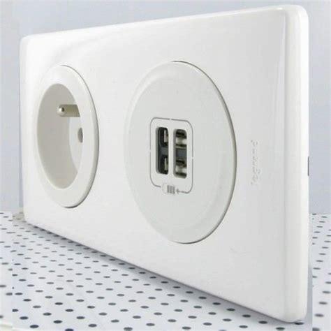 le prise mettez des prises usb dans vos murs maison et domotique