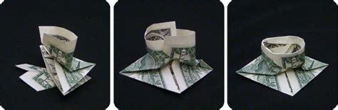 Money Origami Hat - money mortarboard make origami