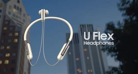samsung launches u flex brand new around the neck headphones samma3a tech