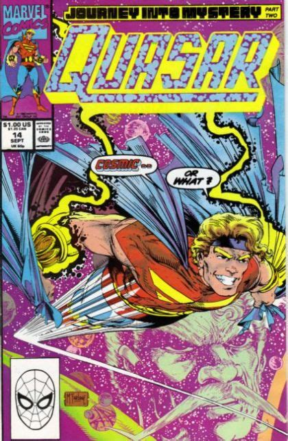 len quasar quasar 14 journey into mystery part two on comic