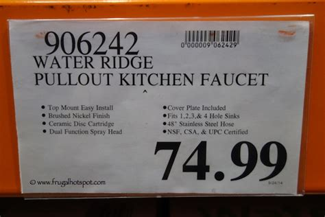 Costco Pull Out by Costco Sale Waterridge Pull Out Kitchen Faucet 58 99