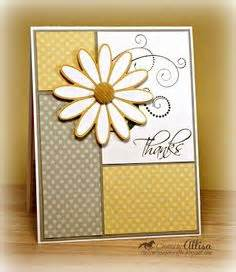 confetti flinger card template handmade greeting card clean and simple design