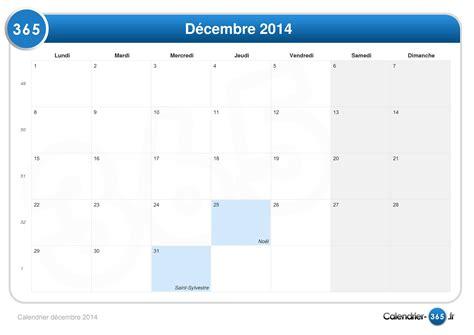 Calendrier Decembre 2014 Calendrier D 233 Cembre 2014