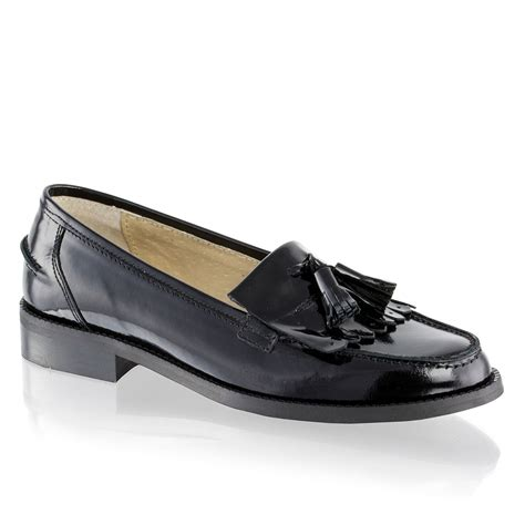 and bromley patent loafers tassel loafer in black patent bromley