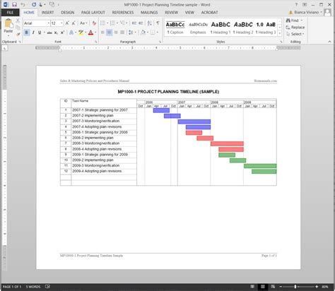 timeline planner template project planning timeline template