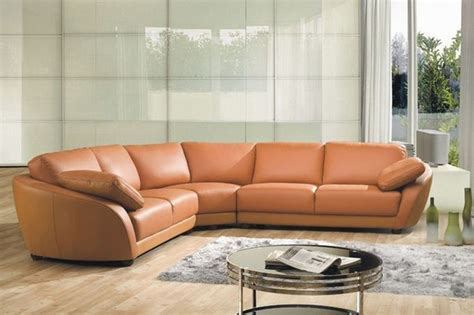 Top Leather Sectionals sophisticated italian top grain leather sectional sofa