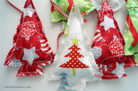 free sewing pattern christmas tree bunting