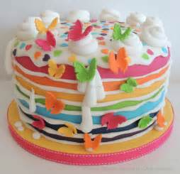 birthday cake slice rainbow pictures and images birthday cakes with name and best wishes