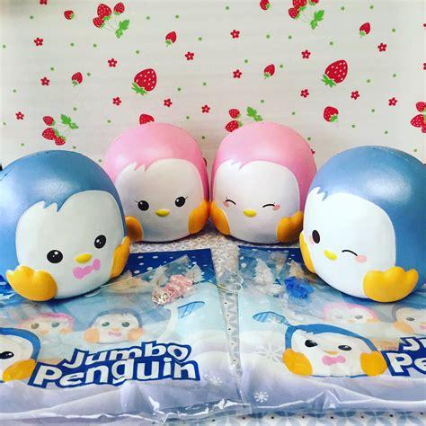 Squishy Licensed Mini Pinguin By Punimaru 20cm jumbo penguin squishies by puni maru licensed