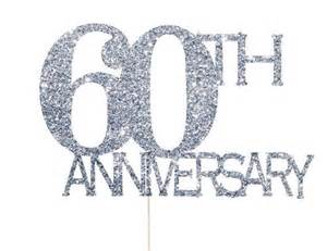 60th decorations 60th anniversary cake topper 60th anniversary decorations