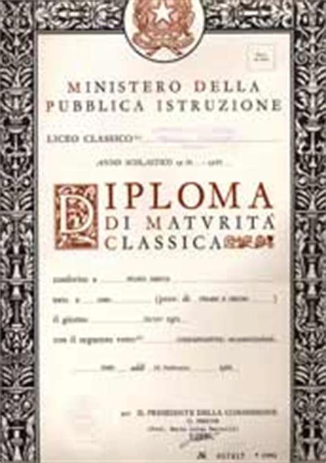 sanzia milesi istruzione diploma di maturit 224 classica