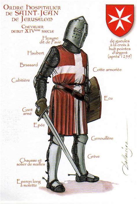 the knights of the order of saint john their london knights hospitallers 14th century sovereign military
