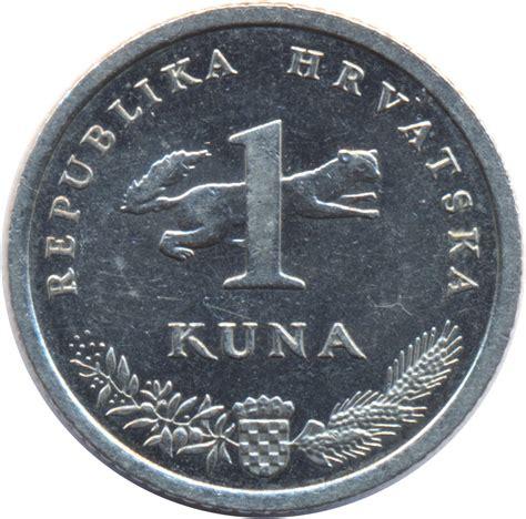 cuna values 1 kuna croatian text croatia numista