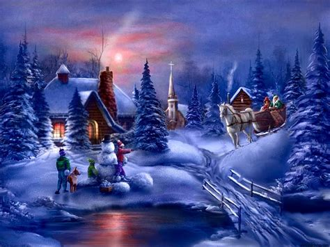 wallpaper christmas night christmas night daydreaming wallpaper 27551926 fanpop