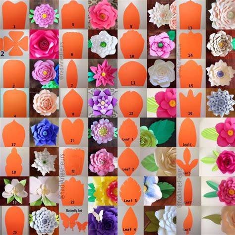 Flower Templates For Paper Flowers by Best 25 Mexican Paper Flowers Ideas On Tissue