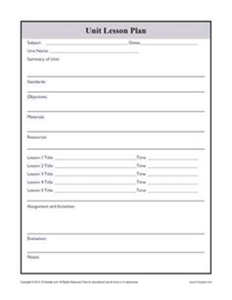 lesson plan template ontario elementary ontario elementary level curriculum checklists