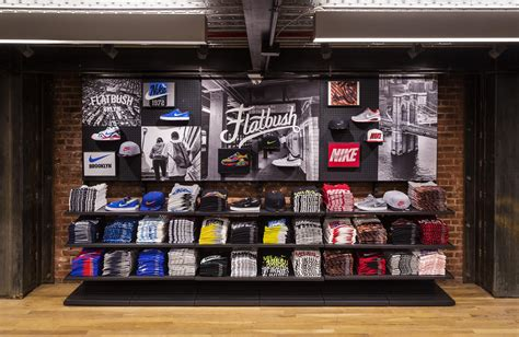 athletic shoe stores nyc nostrand and flatbush nike opens nyc community